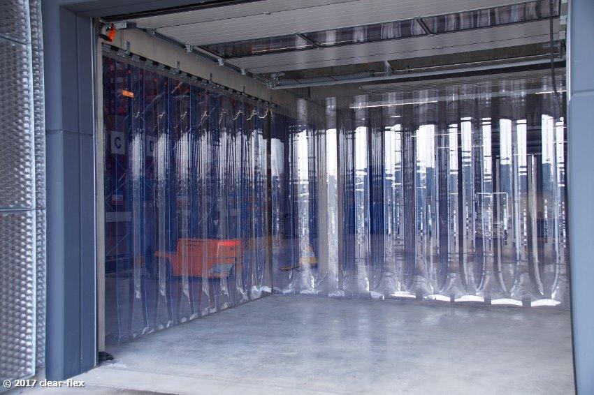 Lamellen Raumteiler clearflex de esslingen berkheim lamellen industrietüren
